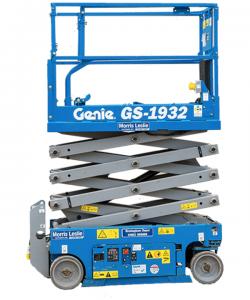 scissor lift genie rental equipment