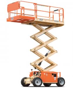 scissor lift rental equipment