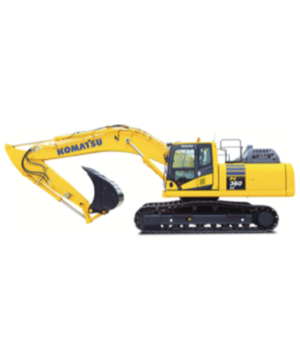 excavator komatsu 360 rental equipment
