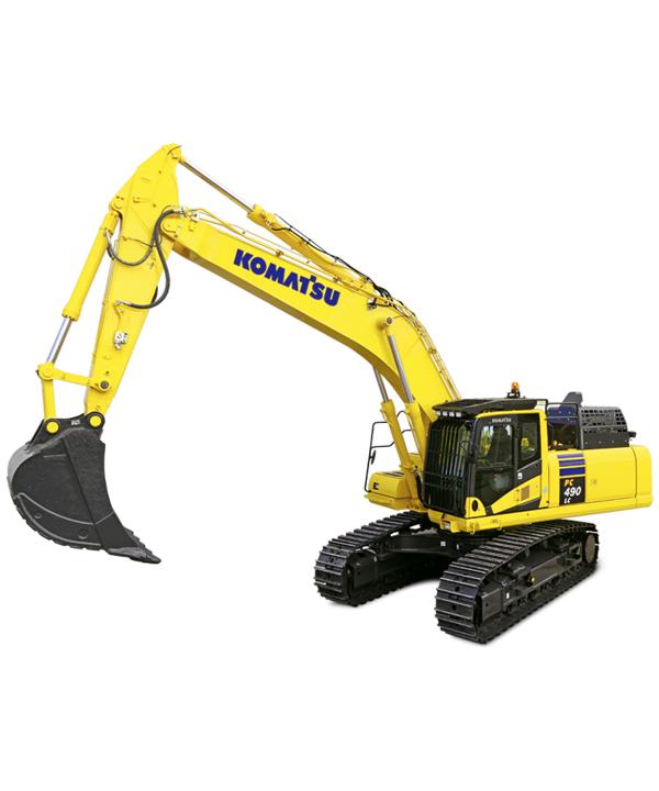 excavator komatsu 490 rental equipment