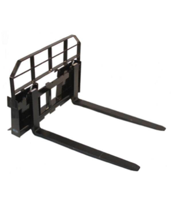 pallet forks skid steer attachment