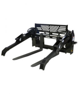 pallet forks skid steer attachment