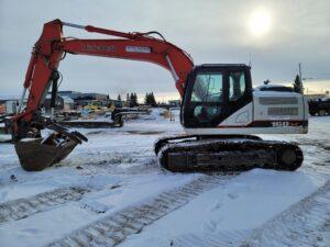 used excavator link belt 160 rental equipment