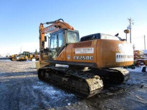 used excavator case CX250C rental equipment