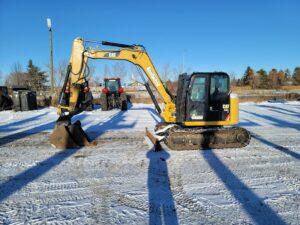 used excavator cat 308E rental equipment