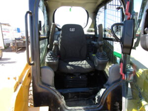 used skid steer cat 236D rental equipment
