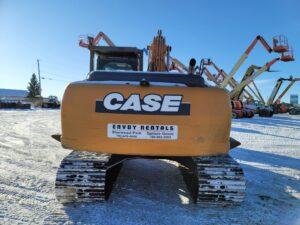 used excavator case cx210C rental equipment