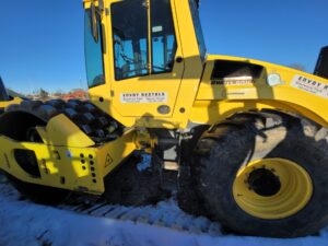 used compaction equipment packer bomag