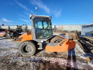 used compaction equipment packer hamm