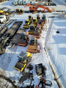 used compaction equipment packer