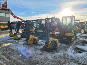 used mini excavator john deer 35G 50G rental equipment