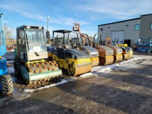 used compaction equipment packer rental equipment
