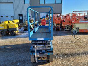 used scissor lift genie gs-2032 rental equipment