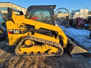 used skid steer caterpillar 259D rental equipment