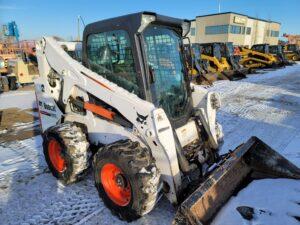 used skid steer bobcat S650 rental equipment