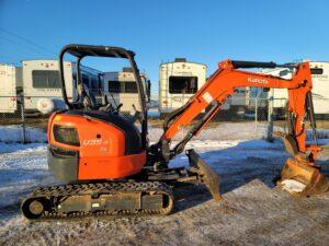 used kubota u35 excavator