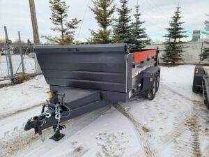 dump trailer precision trailer