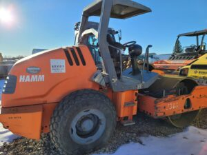 used hamm 3307 drum roller compaction