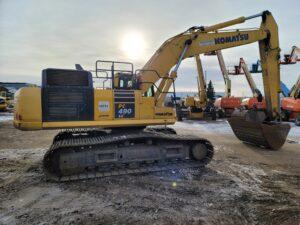 used komatsu pc490 excavator